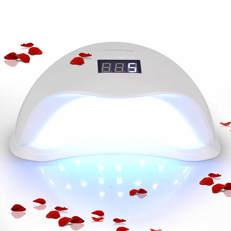 Lightimetunnel 48W LED UV Nail Lamp, Gel Nail Polish Dryer Curing ...